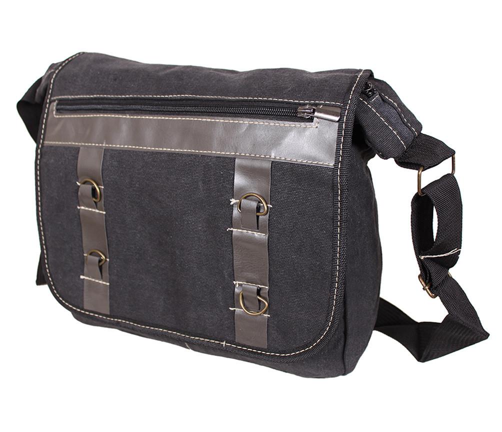 Мужская текстильная сумка 303229 черная