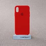 """Накладка Apple iPhone Xs/X {5.8""""} red [копия], фото 2"""