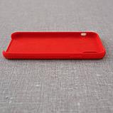"""Накладка Apple iPhone Xs/X {5.8""""} red [копия], фото 5"""