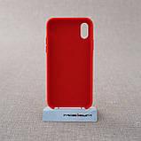 """Накладка Apple iPhone Xs/X {5.8""""} red [копия], фото 3"""