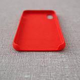 """Накладка Apple iPhone Xs/X {5.8""""} red [копия], фото 4"""