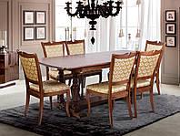 Стол обеденный раскладной Палермо орех