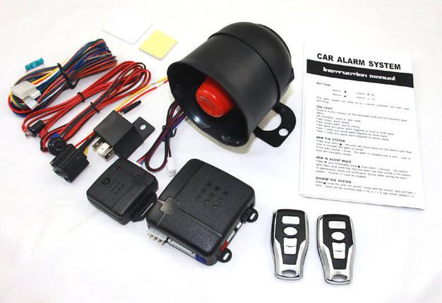 Автомобильная сигнализация 0T016S двухуровневая одностороняя система, фото 2