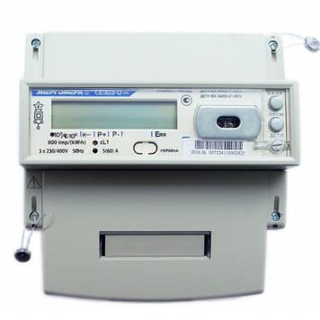 Счетчик электроэнергии Энергомера СЕ303-U A R33 043 JAZ 5-10А трехфазный двухзонный