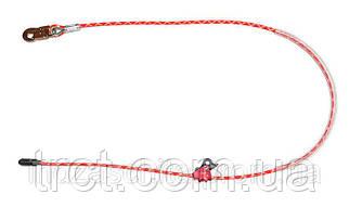Строп тросовый с алюминиевым регулятором длины, 2,5 м