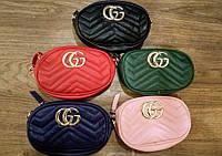 Женская поясная сумка на пояс в стиле Gucci (Гуччи)  + ремешок на плечо