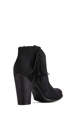Ботильоны JustFab Womens Freeya Black, фото 2