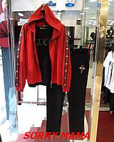 6d3cf9226bfb Модный спортивный женский костюм в стиле GUCCI больших размеров 48-82 размер