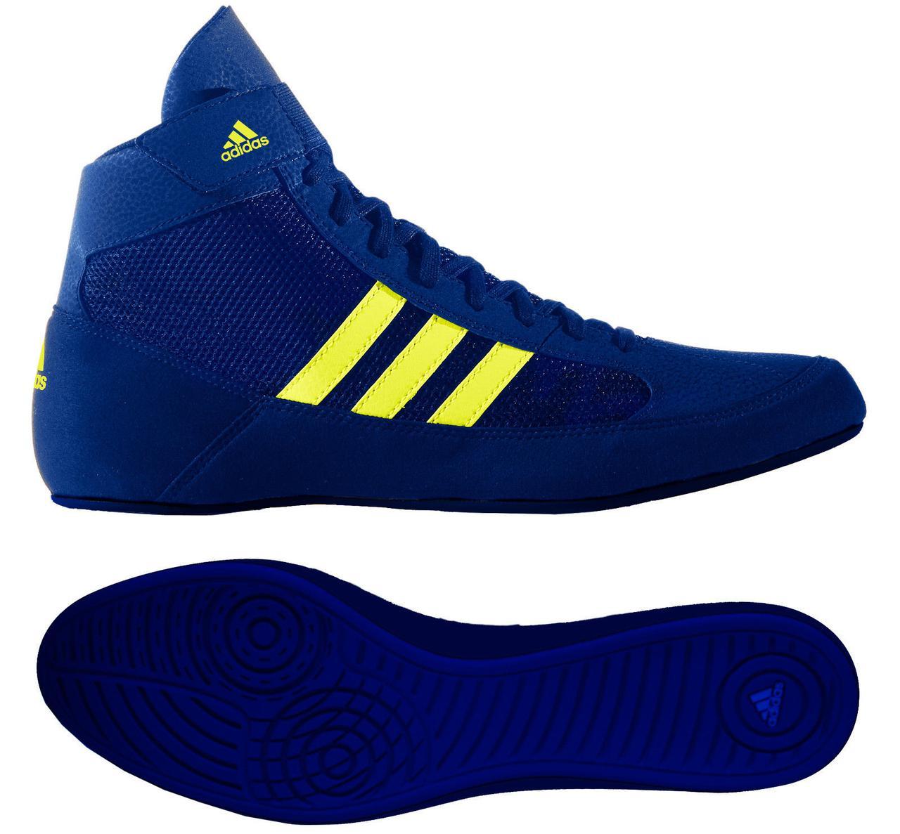 76b33e4354e6de Борцовки Adidas Havoc Kids (BD7637) Blue детские - Интернет-магазин  SportsTrend в Киеве