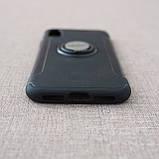 """Накладка ROCK Magnet iPhone Xs/X {5.8""""} black, фото 5"""