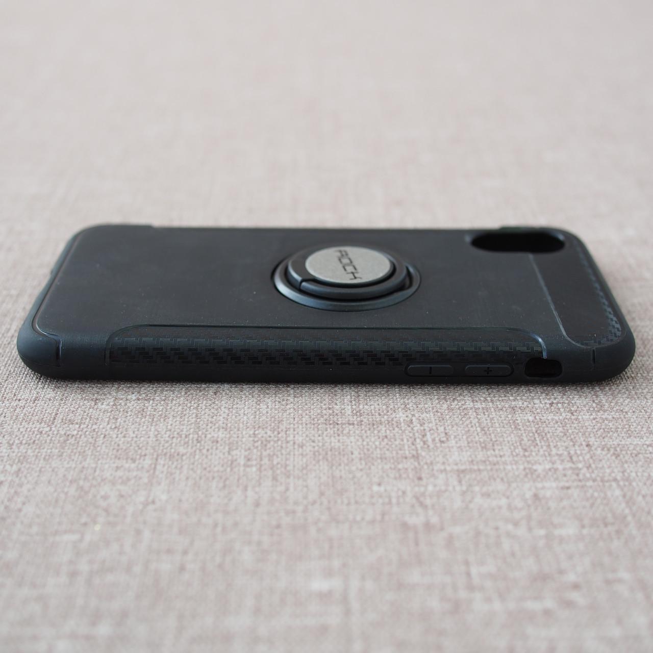 Накладка ROCK Magnet iPhone Xs X black