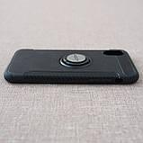 """Накладка ROCK Magnet iPhone Xs/X {5.8""""} black, фото 6"""