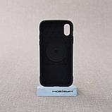 """Накладка ROCK Magnet iPhone Xs/X {5.8""""} black, фото 3"""