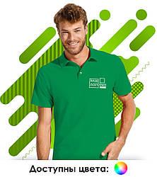 Мужская рубашка поло с коротким рукавом SOL'S SUMMER II для нанесения логотипа, 11342