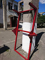Рама кронштейна мусоропровода с Домкратами