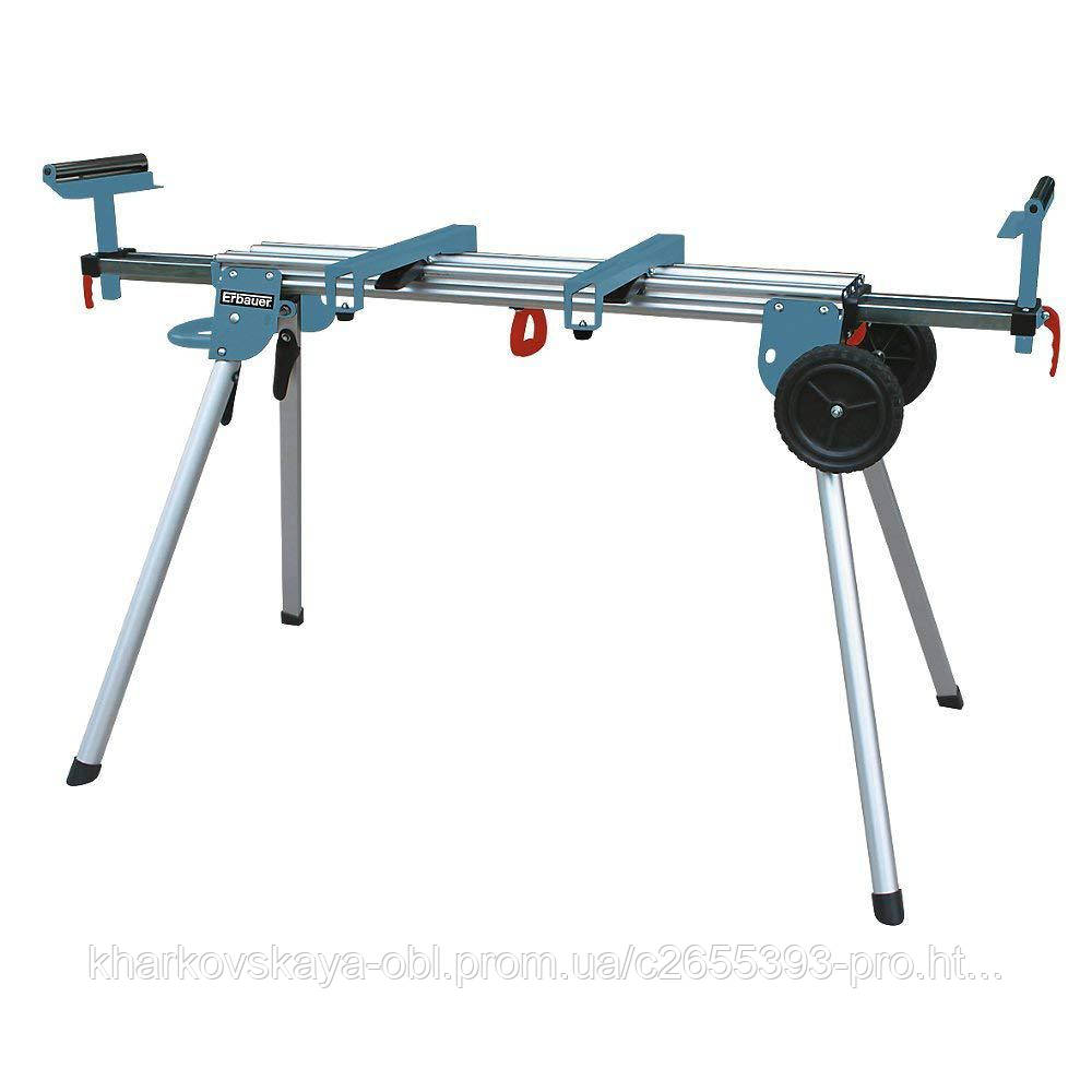 Алюминиевый стол для пилы Erbauer Evolution Mac allister JCB Makita