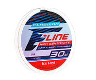 Леска Flagman F-Line Ice Red 30м 0.16мм