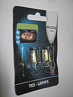 Лампа 12V 10W (R10W)(Кт-2шт) (Tes-lamps)блист