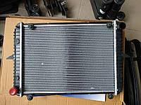 Радиатор 3302 2х рядный алюминиевый с/о до 1990 года (с ушами) (пр-во АТ)
