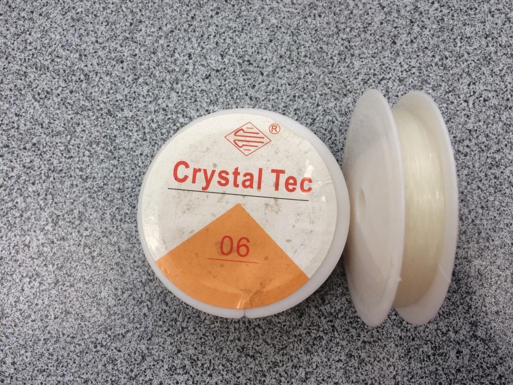 Силиконовая резинка ассорти для бисероплетения 12,5-13,5 м. (0,6 мм)