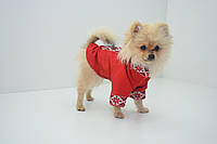 Рубашка футболка - вышиванка для собаки