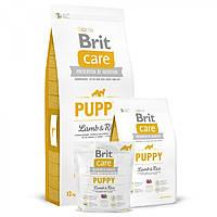 Корм Brit Care Puppy All Breed Lamb & Rice для щенков, гипоаллергенный с ягненком и рисом