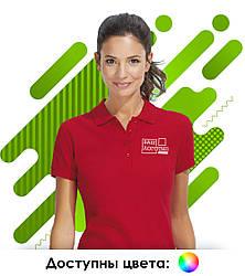Женская рубашка поло с коротким рукавом SOL'S PASSION для нанесения логотипа, 11338