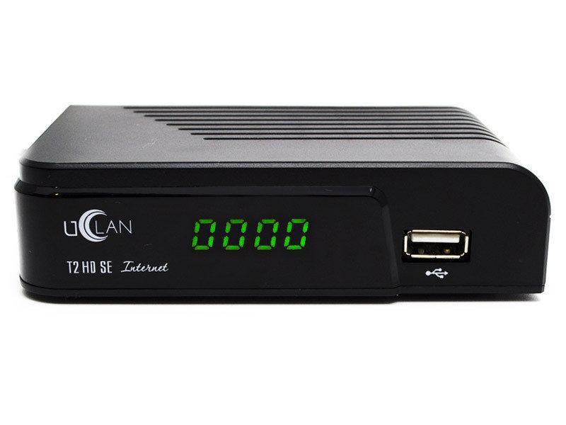Цифровой ресивер тюнер uClan T2 HD SE Internet +
