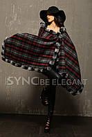 3 в 1 Шаль-накидка-шарф с мехом шиншилла  , фото 1