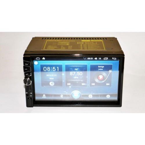 Автомагнитола мультимедийная Pioneer 6516 Android 2DIN + GPS + Рамка 4Ядра, 16Gb ROM, 1Gbb RAM, Adnroid