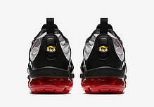 "Кроссовки Nike Air VaporMax Plus ""Red Shark Tooth"" (Серые), фото 2"