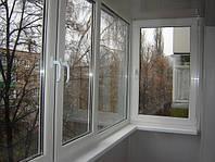 М/п окно для балкона/лоджии Эконом