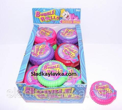 Жевательная резинка Roll Buble gum Рулетка 24 шт (Китай)