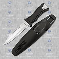 Нож для дайвинга SS 35 черный (подводный) MHR /08-7