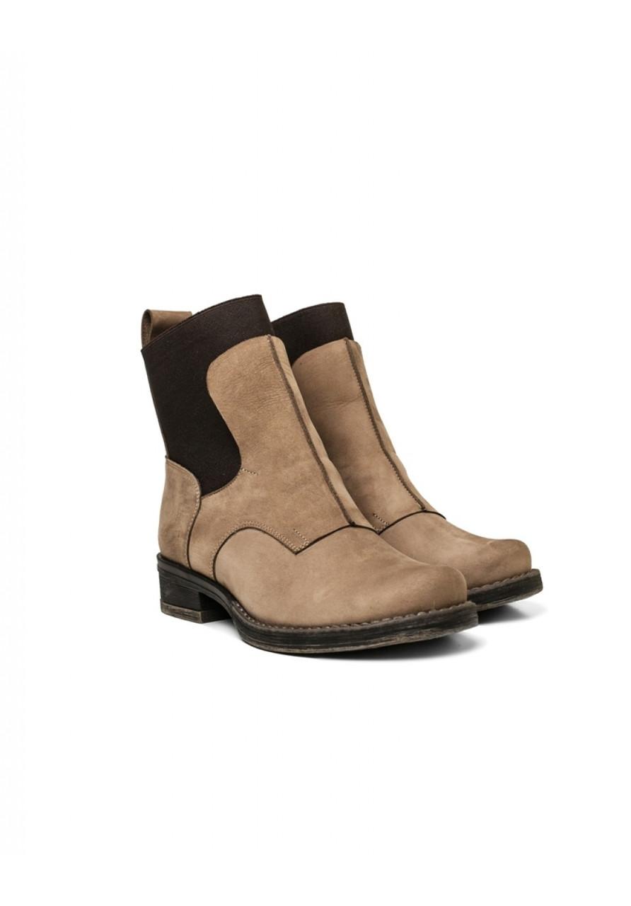Ботинки Kasandra 1291 38 Нубук/беж