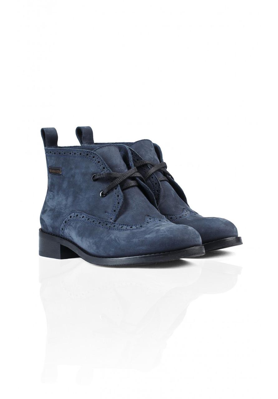 Ботинки Kasandra 475 37 Нубук/синий