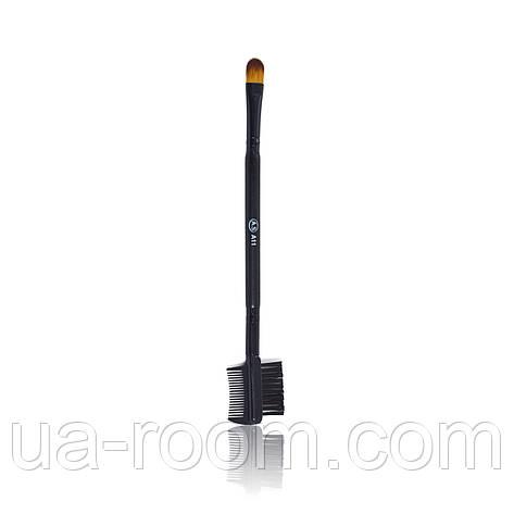 Кисть двухсторонняя для макияжа глаз Aise Line A11, фото 2