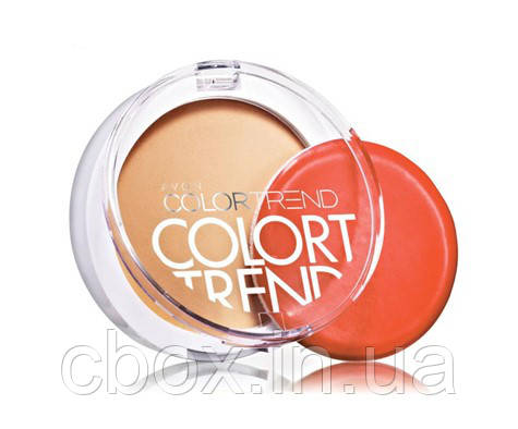 "Компактная пудра ""Идеал"", цвет Medium Beige  - Бежевый, Color Trend Avon, Эйвон, 77423"