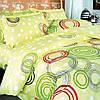 Комплект постельного белья ТЕП Круги Кольорові 215-150 см разноцветный