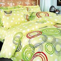 Комплект постільної білизни ТЕП Круги Кольорові 215-150 см різнобарвний
