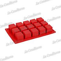 Силиконовая форма для выпечки Pavoni Cubo FR103
