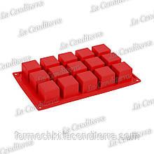 Силіконова форма для випічки Pavoni Cubo FR103