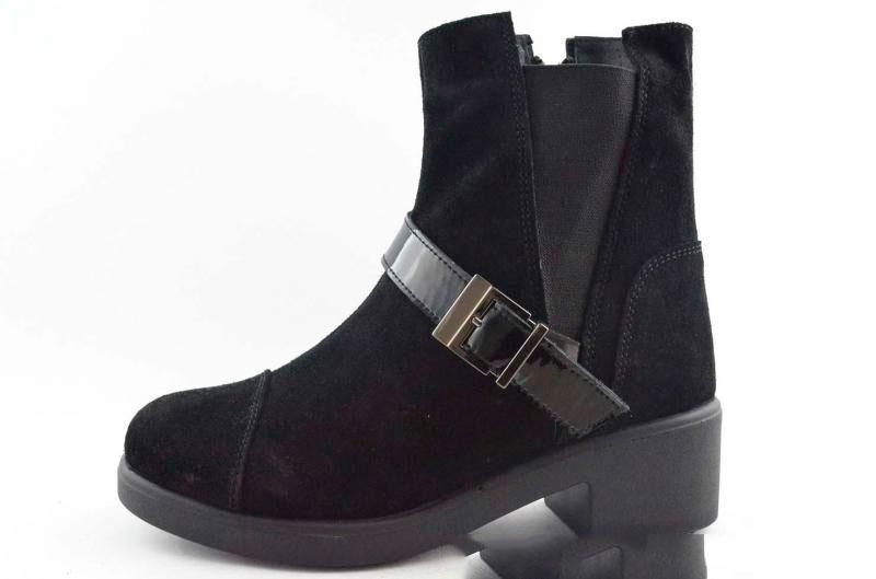 Ботинки Ailin 12616 40 Замша/черный