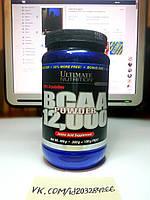 Ultimate Nutrition BCAA Powder 12,000 Crystalline 400г 67 порций, фото 1