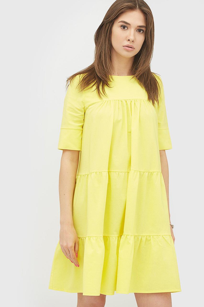 Платье CARDO OTRI L желтый