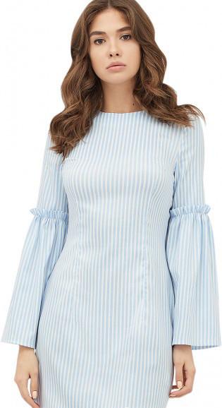 Платье CARDO TVIKS L Бело-голубой