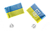 Маленькие флажки Украины