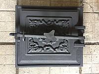 Дверца топочная 365х330 мм крашеная, фото 1