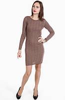 Платье 10378 Goldi M Коричневый