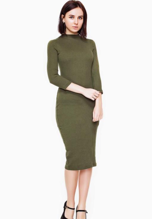 Платье 17589 Goldi L Хаки